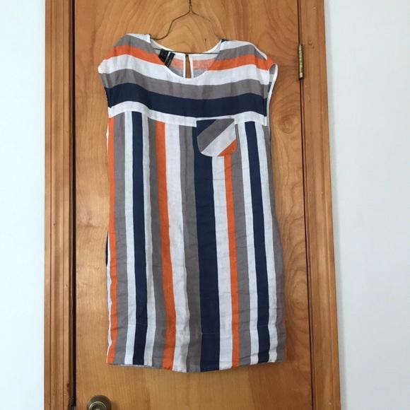 1915bea902 Mango linen dress. M 5b3fb0cb6a0bb764a42a42ca